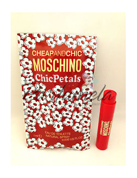 Moschino Cheap And Chic Chic Petals, Vzorek vůně