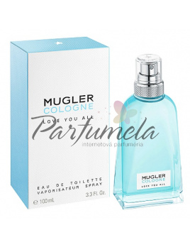 Mugler Cologne Love you all, Toaletní voda 100ml - Tester